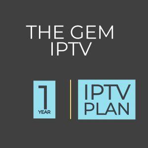 1 year IPTV Plan