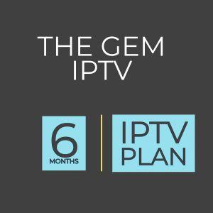 6 Months IPTV Plan