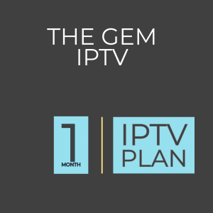 1 Month platinum iptv